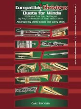 Compatible Christmas Duets For Winds Clarinet/Trumpet/Baritone  - 9780825893582