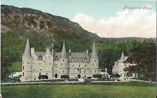 Postcard UK Scotland Stirling Loch Achray Tigh Mor Trossachs Hotel ca1905-20