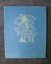 WILL EISNER HARD BOUND ART PORTFOLIO LIMITED EDITION S/N W/CERT SPIRIT 1977