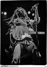 Bob Marley Live - Retro Poster Size 84.1cm x 59.4cm - approx 34''x 24''