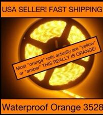 5M Waterproof 3528 ORANGE Led Strip 300 LEDs