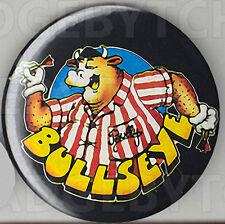 BULLSEYE ROUND FRIDGE MAGNET - CLASSIC 80's TV!