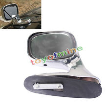 New Universal Fit Auxiliary Exterior Blind Spot Chrome Parking Leftt Side Mirror