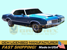1970 GM Oldsmobile 442 W29 Paint Stencil Decals Stripes Kit W25 (AI Hood)