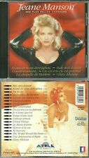 CD - JEANE MANSON : Le meilleur de JEANE MANSON - BEST OF / COMME NEUF -LIKE NEW