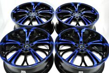 17 blue Wheels Cobalt SS Catera HHR Malibu Chrysler 200 Dart G6 5X108 5X110 Rims