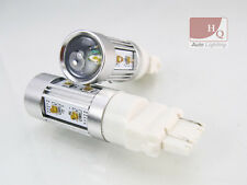 P27/7W 3157 W2.5x16q Xenon LED 29W HP Stop or Tail Car Light Bulbs WHITE