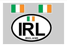 IRELAND EIRE FLAG WINDOW / BUMPER STICKER FOR CAR BIKE CARAVAN TRAILER