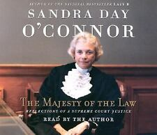 The Majesty of the Law by Sandra Day O'Connor Audiobook 5 Discs 2003