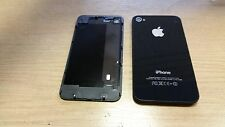 4 x Genuine Original Apple iPhone 4 Black Rear Battery Cover Fascia Grade A