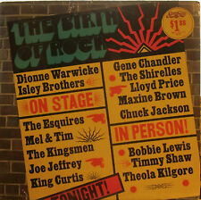 Birth of Rock: On Stage in Person (Sealed) (Chuck Jackson-3, Shirelles-4, Dionne