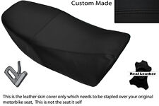 BLACK STITCH CUSTOM FITS YAMAHA RD 350 LC YPVS 80-83 LEATHER DUAL SEAT COVER