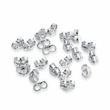 925 Sterling Silver Regular Post Earring Backing - Back Locks 20pc - Azaggi