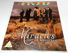 KANSAS-MIRACLES OUT OF NOWHERE-UK BLU-RAY+CD 2015-NEW & SEALED