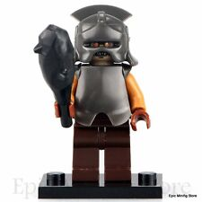 Custom Uruk-hai Orc LOTR Minifigure fits with Lego pg521 UK Seller Hobbit