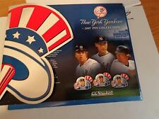 NEW YORK POST- NEW YORK YANKESS 2007 PIN COLLECTION -20 PINS- MINT   BB6