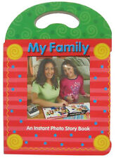 3 POLAROID 600 FILM FAMILY PHOTO STORY BOOK ALBUM NEW