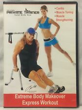 Extreme Body Makeover Express Workout DVD Tony Little Private Trainer Total Gym
