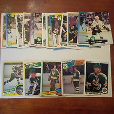 Minnesota North Stars Lot of 25 cards-70's/80's Cards, Stars Heros, Rookie Cards