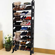Convertible Lightweight 10 Tier Shoe Rack Organiser K07