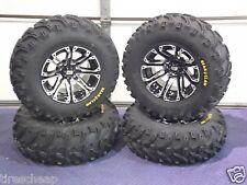 "HONDA RANCHER 420 25"" BEAR CLAW ATV TIRE & ATV WHEEL KIT LIFETIME WARRANTY SS3"