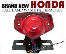 HONDA SL100 SL125 XL100 XL125 XL175 XL250 XL350 TAIL LIGHT + BRACKET 6V [LCB]