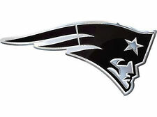 Brand New NFL New England Patriots Car Truck Chrome Emblem Decal
