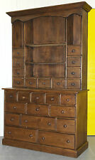 RARE VICTORIAN MERCHANTS APOTHECARY HABERDASHERY BANK / CHEST OF DRAWERS DRESSER