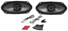 "Kicker 41KSC4104 4x10""KS-Series 2-Way Car Speakers KSC410 New 300W Peak/150W RMS"