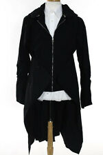 Hood By Air Black Hooded Bomber Layered Trench Size Extra Large $2490 New 105910