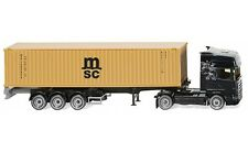 "#052349 - Wiking Containersattelzug NG (Scania) ""MSC"" - 1:87"