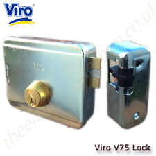Viro V75 Electric Rim Door Personnel Gate Lock