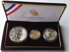 2015 Us Marshal 3 Coin Proof Set Gold, Silver, Clad Ogp&cert Sold out at Mint