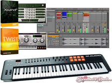 M-Audio Oxygen 61 MKIV - USB MIDI Keyboard Controller - Music Production Bundle