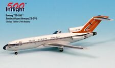 South African Airways 727-100F ZS-DYO Airplane Miniature Model Metal Die-Cast 1: