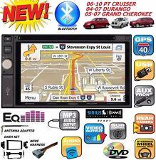 06 07 08 09 10 PT CRUISER DURANGO GRAND CHEROKEE  STEREO GPS OPTIONAL SIRIUSXM