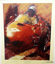 Juan Ferrigno signed limited edition print Phil Hill World Champion Formula One