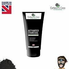 Carbone & Coco™ Activated Charcoal Blackhead Remover Peel Off Pore Face Mask