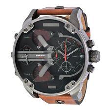 New Diesel Mr. Daddy 2.0 DZ7332 4 Time Zone Chronograph Men's Watch