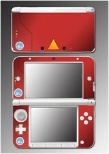 Pokedex Trainer Professor Oak Pikachu Video Game Decal Skin for Nintendo 3DS XL