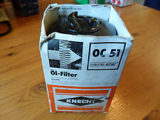KNECHT, Oil Filter, part no. OC 51