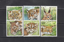 Laos 1981 Felines Sc 346-351   complete  mint never hinged