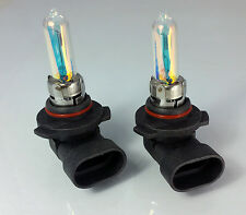 HB3 9005 P20d 100W ALL WEATHER RAINBOW Halogen Bulbs 2pcs