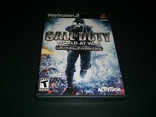 """Call of Duty World at War Final Front """"Great Condition"""" (PlayStation 2) Complete"""