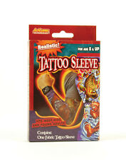 HALLOWEEN FAKE ONE# TATTOO ARM SLEEVE FOR KIDS ADULTS FANCY DRESS ONE IN PACKET