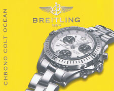 BREITLING CHRONO COLT OCEAN ANLEITUNG INSTRUCTIONS IN GELB I117
