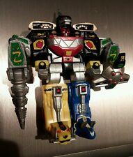 Mmpr mighty morphin power rangers mega dragonzord mini model figure megazord