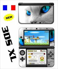 SKIN STICKER AUTOCOLLANT DECO POUR NINTENDO 3DS XL - 3DSXL REF 39 CHAT