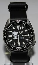 Premium SEIKO 6309-729A Vintage Dive Watch Custom Snoopy Legend Dial Automatic