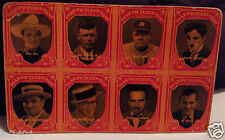 RARE 1929 Exhibit Star Picture Stamps Postcard DEMPSEY BABE RUTH CHAPLIN TOM MIX